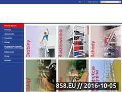 Miniaturka Rusztowania, drabiny i schody aluminiowe (www.drabex.com)