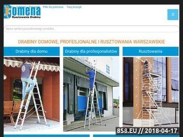 Zrzut strony Drabiny aluminowe - Katowice