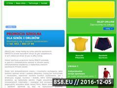 Miniaturka domeny www.draco-sport.pl