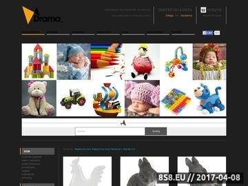 Zrzut strony Drama-sklep.pl - dekoracje