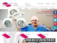Miniaturka domeny www.drchecinski.pl