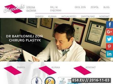 Zrzut strony Chirurgia plastyczna