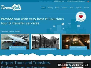 Zrzut strony Busy i dojazd do Zakopanego - DreamCab