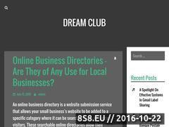 Miniaturka domeny dreamclub.info