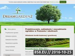 Miniaturka domeny www.dreamgarden-ogrody.pl