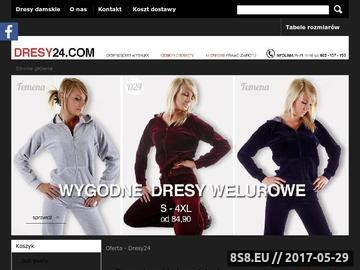 Zrzut strony Dresy damskie - od XS do 4XL, 15 kolorów