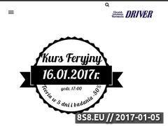Miniaturka domeny driver.rzeszow.pl