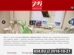 Miniaturka domeny drmazur.stargard.pl