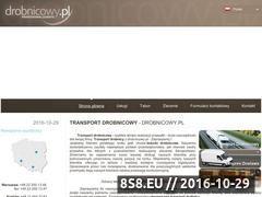 Miniaturka domeny www.drobnicowy.pl