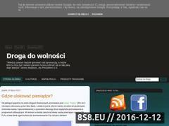 Miniaturka domeny droga-do-wolnosci.blogspot.com