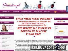 Miniaturka domeny drogeriaklaudia.pl