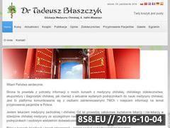 Miniaturka domeny www.drtadeuszblaszczyk.pl