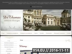 Miniaturka domeny www.drthomas.com.pl