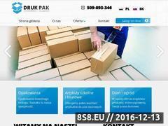 Miniaturka domeny druk-pak.com