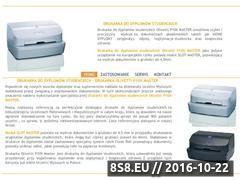 Miniaturka domeny www.drukarka-do-dyplomow.pl