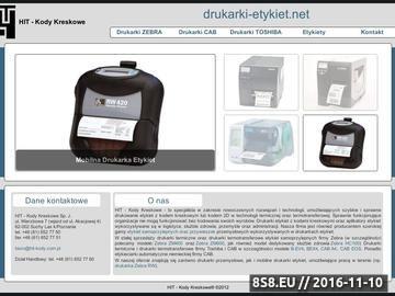 Zrzut strony Drukarki-etykiet.net