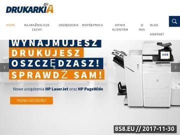 Zrzut strony DrukarkiA3 - dzierżawa kserokopiarek