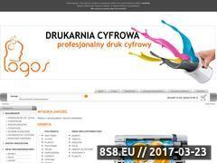 Miniaturka domeny drukarnia-logos.pl