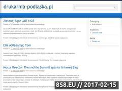 Miniaturka domeny drukarnia-podlaska.pl