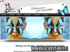Miniaturka domeny www.drukarniapapillon.pl