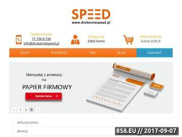Zrzut strony Szybkie i profesjonalne drukowanie plakatów