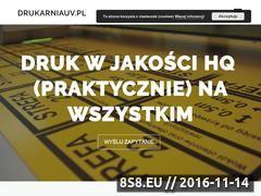 Miniaturka domeny drukarniauv.pl