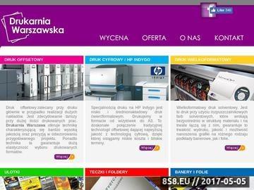 Zrzut strony Drukarnia Warszawa