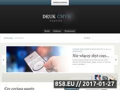 Miniaturka domeny www.drukcmykpanton.pl