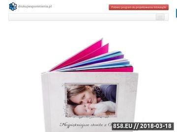 Zrzut strony Fotoksiążki, fotokalendarze - kalendarze z twoimi zdjęciami