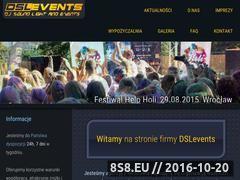 Miniaturka domeny dslevents.pl
