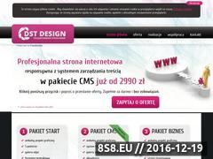 Miniaturka domeny www.dstdesign.pl