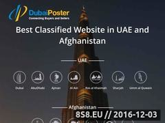 Thumbnail of Free Classified Ads in UAE & Afghanistan Website