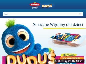 Zrzut strony Duduś - zakłady mięsne DUDA