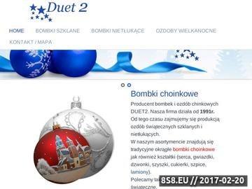 Zrzut strony DUET2 bombki