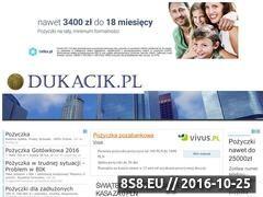 Miniaturka domeny www.dukacik.pl