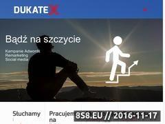 Miniaturka domeny www.dukatex.pl