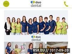 Miniaturka domeny www.duodental-siechnice.pl
