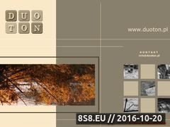Miniaturka domeny www.duoton.pl