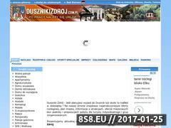 Miniaturka domeny dusznikizdroj.com.pl