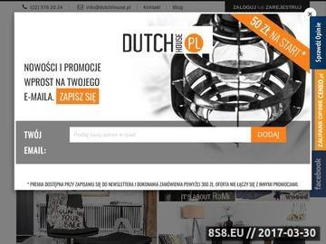 Zrzut strony Meble skandynawskie - DutchHouse.pl