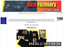 Miniaturka domeny www.duzerozmiary.bezposrednio.pl