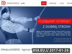 Miniaturka domeny dwaplusdobrze.pl