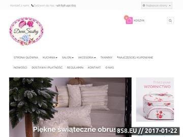 Zrzut strony Poduszki dekoracyjne