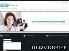 Miniaturka domeny www.dwrfinance.com