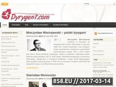 Miniaturka domeny www.dyrygent.com