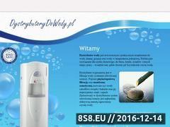 Miniaturka domeny www.dystrybutorydowody.pl