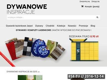 Zrzut strony DywanoweInspiracje.pl - dywany, chodniki - Strona główna