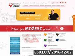 Miniaturka domeny www.dzieci.hospicjum-podkarpackie.pl