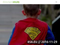 Miniaturka domeny dzieciecezmysly.pl