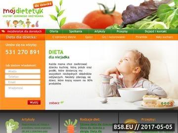 Zrzut strony Dietetyk dziecięcy